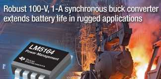 Synchronous buck converter enables efficiency and simplifies power-supply design