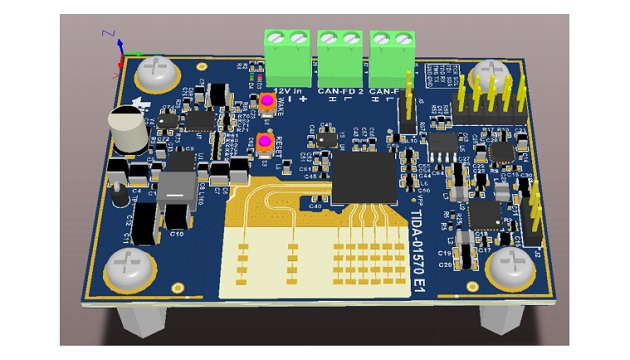 Automotive 77-GHz Radar Module Reference Design with Object