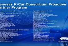 R-Car Consortium Proactive Partner