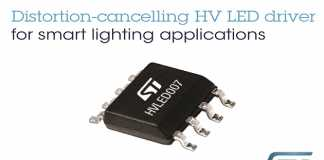 ST high-voltage LED drivers