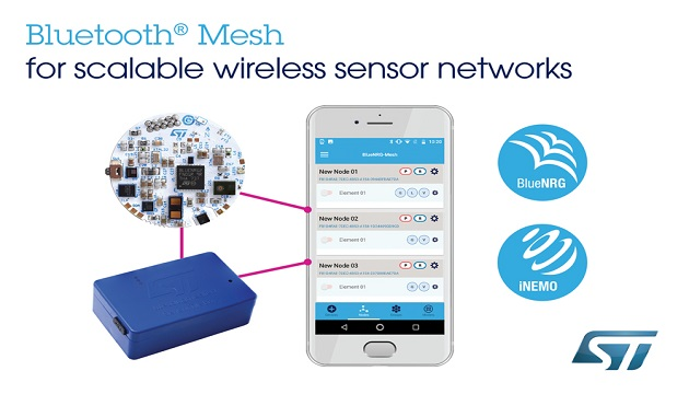 New Bluetooth mesh solutions