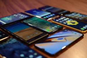 Worldwide smartphones sale