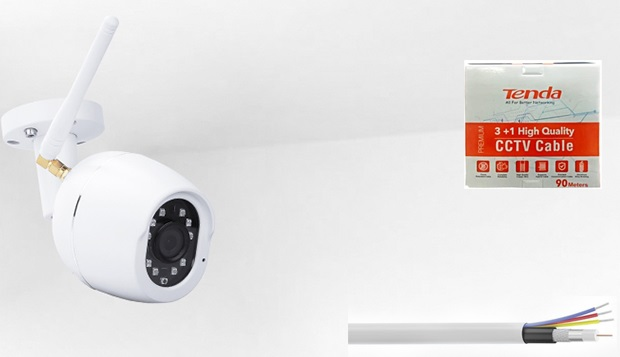 Passive premium CCTV cable