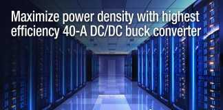 40A SWIFTTM DC DC buck converter
