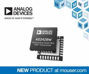 AD242x automotive audio bus transceivers