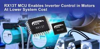 RX13T group of 32-bit microcontrollers