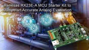 RX23E-A MCU starter kit