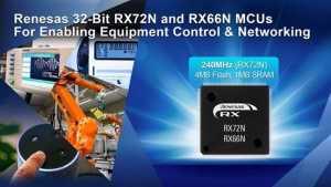 32-Bit RX72N and RX66N MCUs