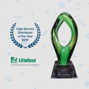 Distributor of the Year by Littelfuse
