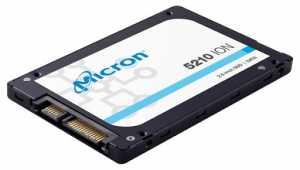 Micron 5210 ION enterprise SATA SSD capacity