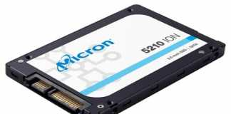 Micron 5210 ION enterprise SATA SSD capacity
