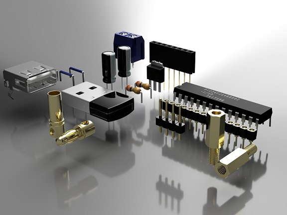Electronic Components Image