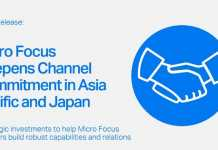 Micro Focus deepens channel commitment in Asia Pacific and Japan: More Focus on Partner Capabilities and Growth Opportunities