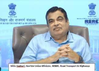 Interactive webinar by Shri Nitin Gadkari for MSMEs