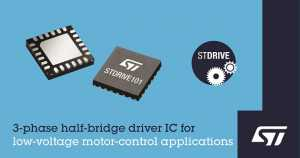 Motor-Control Designs with Gate-Driver IC