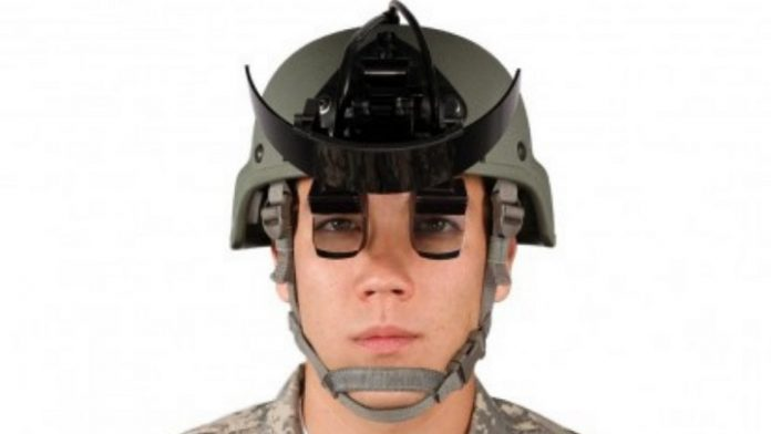Army in Process of Acquiring 556 AR Head Mounted Display Systems