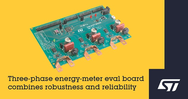 Energy-Meter Evaluation Board
