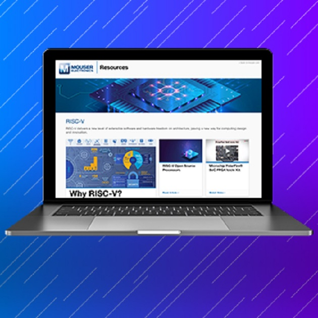 Mouser electronics now stocking new RISC-V Resource Page
