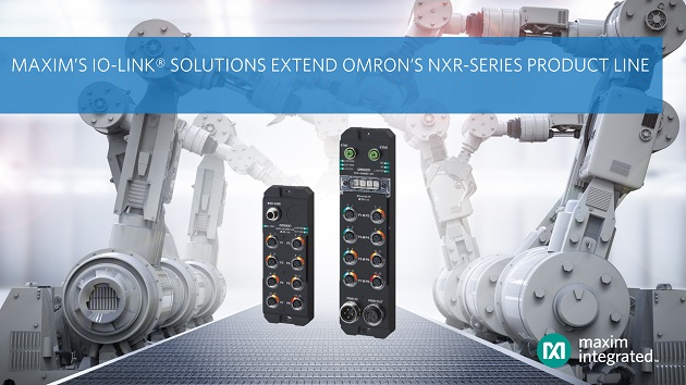 NXR-Series IO-Link Product Line with I/O Hub Solutions for Industry 4.0