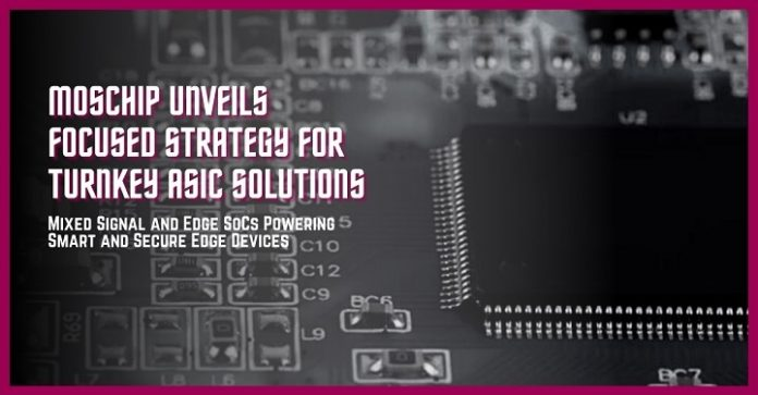 New Focused Strategy for Turnkey ASIC Solutions