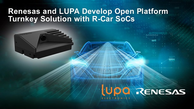 Renesas and LUPA Accelerate Automotive Smart Camera Development with Open Platform Turnkey Solutions