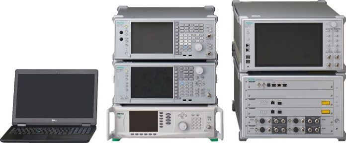Stocking RF Regulatory Test System ME7803NR Solution for Testing of 5G