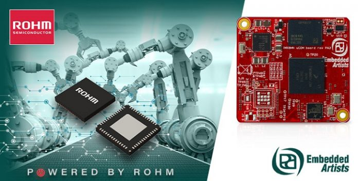 Ultra-Low IQ PMIC from ROHM Selected to Power NXP iMX8M Nano for High Performance Embedded Artists Industrial Control Board