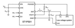 Synchronous buck application circuit