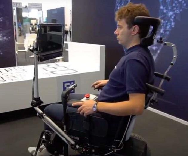 RoboEYE: A Semi-Autonomous and Gaze-Guided Wheelchair