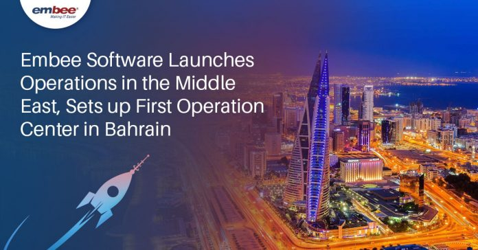Embee Launches Operations in the Middle East, Sets up First Operation Center in Bahrain
