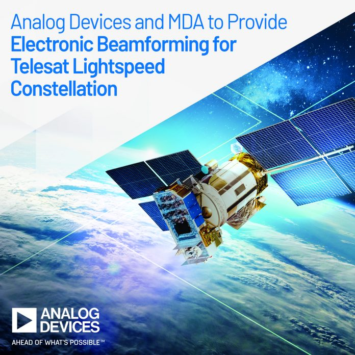 Telesat Lightspeed Constellation