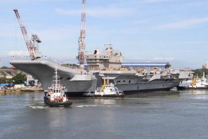 Navy to Get Aircraft Carrier Vikrant, Missile Destroyer in 2021