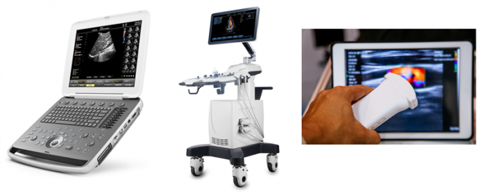 Point-of-care ultrasound devices (cart-based, notebook and handheld)