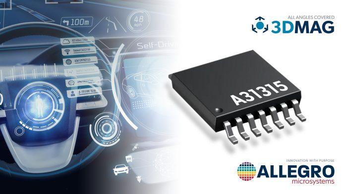 New 3DMAG Magnetic Position Sensor Enables Next-Generation ADAS Applications